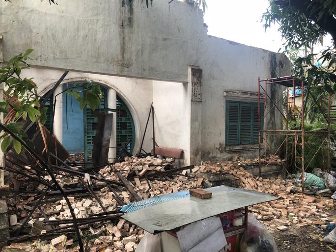 Xót xa biệt thự cổ ở Sài Gòn bị phá dỡ - Ảnh 1.