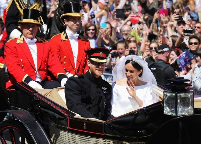 Những khoảnh khắc khó quên của đám cưới hoàng gia Anh - Ảnh 32.