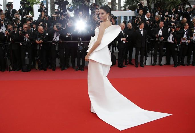 Những bộ đầm lạ mắt trên thảm đỏ Cannes - Ảnh 17.
