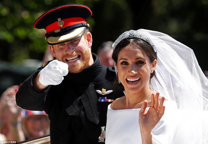 Những khoảnh khắc khó quên của đám cưới hoàng gia Anh - Ảnh 37.