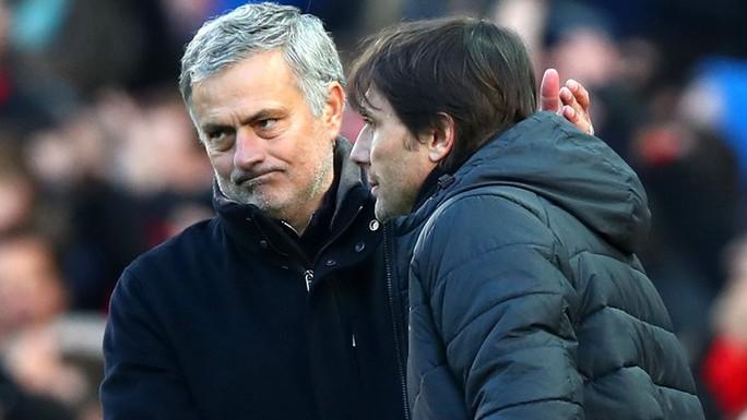 Conte đã xóa tan hận thù với Mourinho  - Ảnh 1.