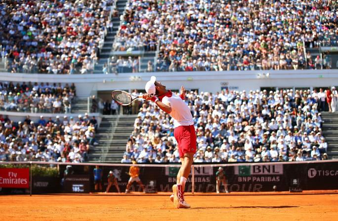 Djokovic và Sharapova cùng dừng bước ở bán kết Rome Open - Ảnh 3.
