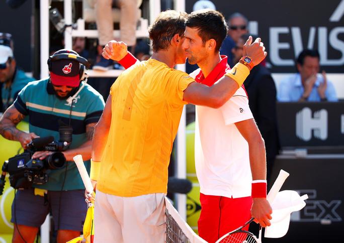 Djokovic và Sharapova cùng dừng bước ở bán kết Rome Open - Ảnh 4.