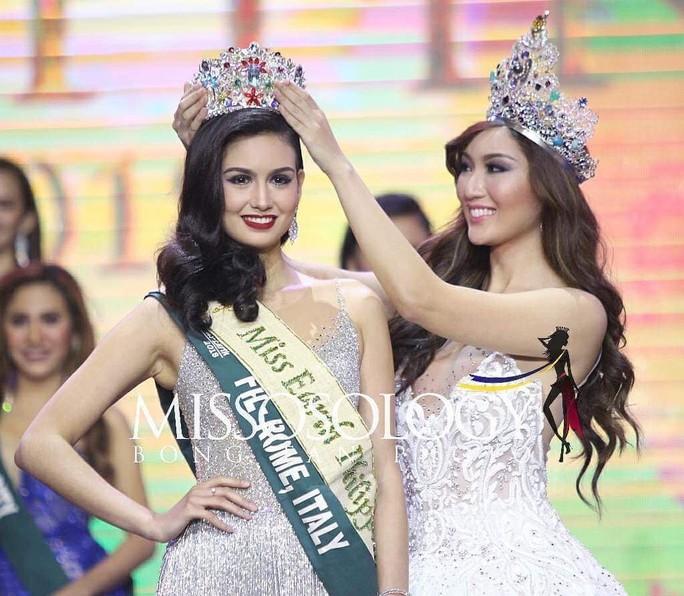 Nhan sắc mê hồn của tân Hoa hậu Trái đất Philippines - Ảnh 1.