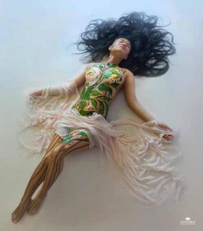 Vụ người mẫu tố bị họa sĩ hiếp dâm: Body painting là gì? - Ảnh 8.