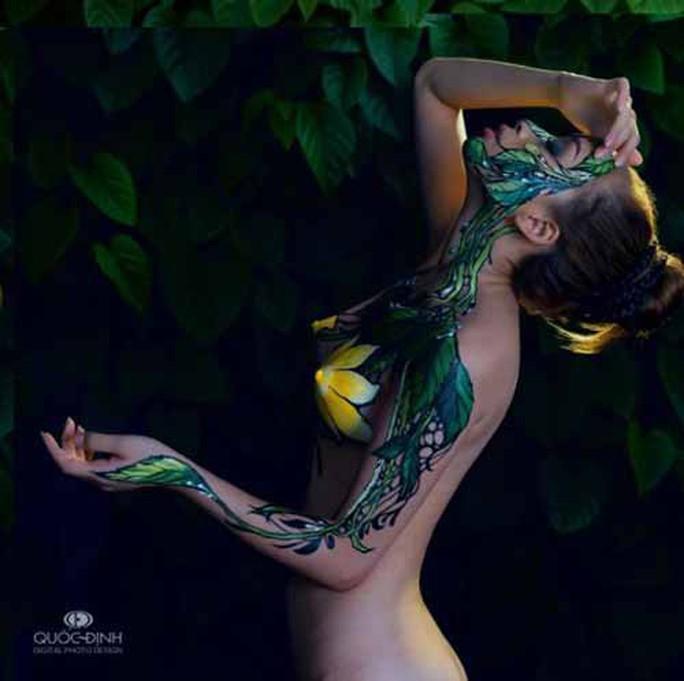 Vụ người mẫu tố bị họa sĩ hiếp dâm: Body painting là gì? - Ảnh 7.