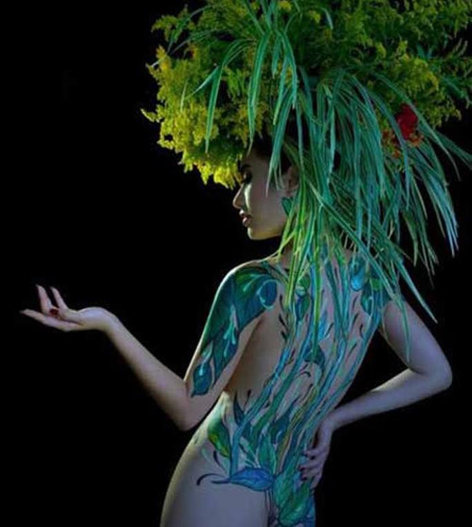 Vụ người mẫu tố bị họa sĩ hiếp dâm: Body painting là gì? - Ảnh 3.