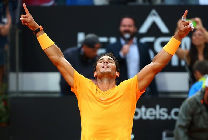 Vô địch Rome Open, Nadal giành lại ngôi số 1 thế giới - Ảnh 4.