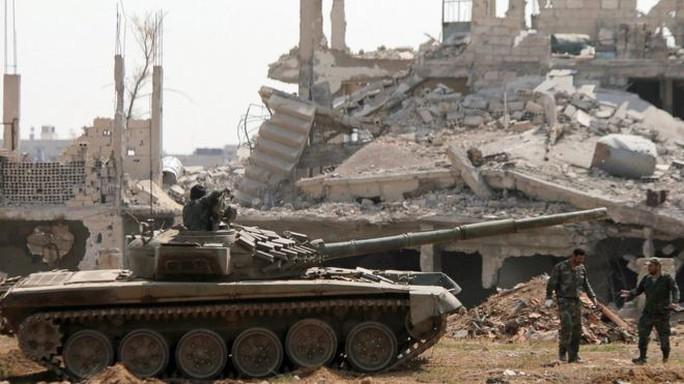 Syria quyết nghiền nát IS ở Damacus - Ảnh 1.