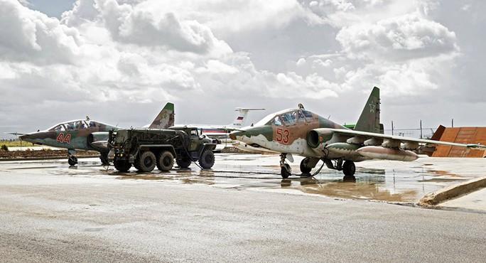 Nga bắn hạ máy bay không người lái lạ ở Syria - Ảnh 1.