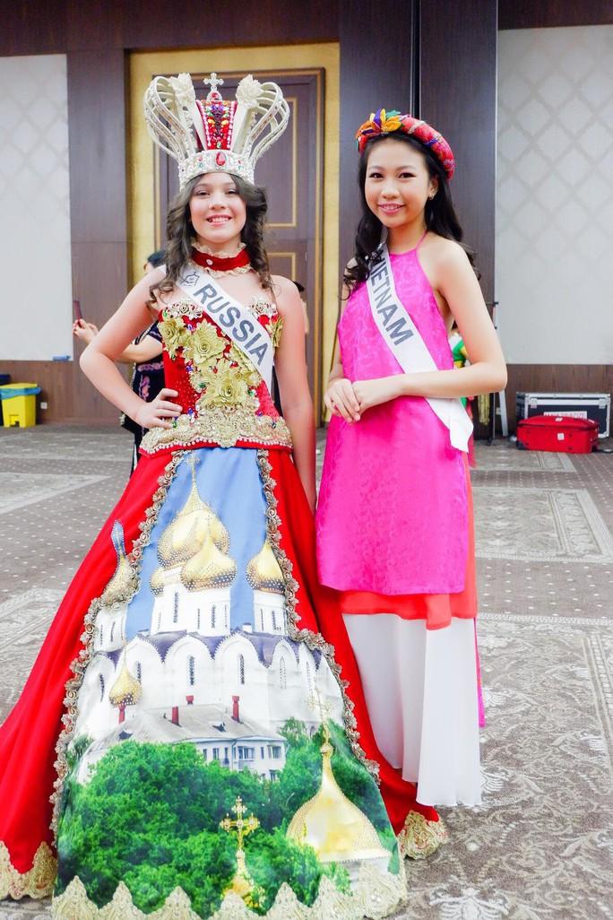 13 tuổi, mẫu nhí Việt đăng quang Hoa hậu Hoàn vũ nhí 2018 - Ảnh 3.