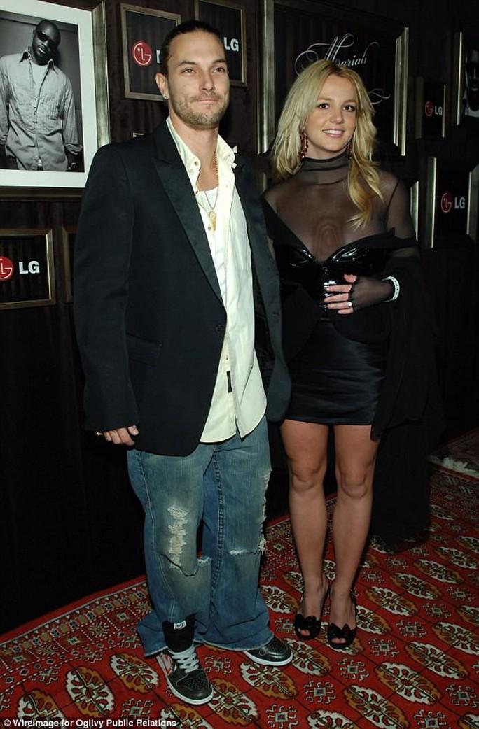 Chồng cũ đòi Britney Spears tăng gấp 3 trợ cấp nuôi con - Ảnh 1.