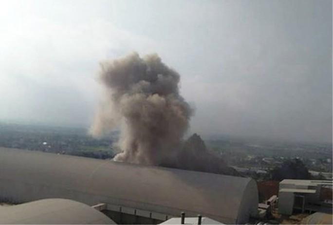 Nổ lớn tại Nhà máy Xi măng Xuân Thành - Ảnh 1.