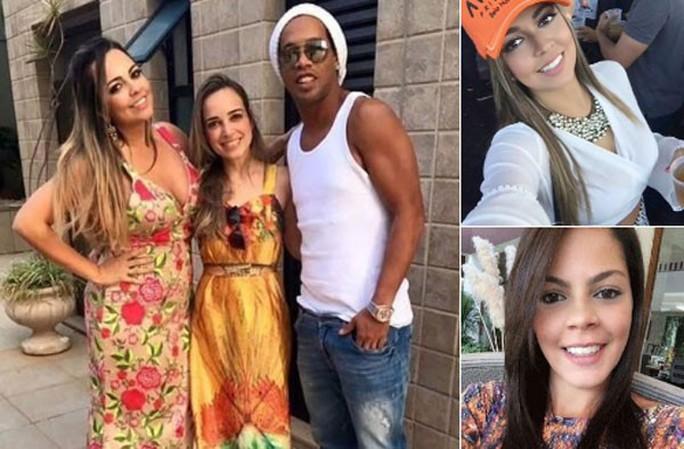 Cưới một lúc 2 vợ, Ronaldinho khiến fan há hốc mồm - Ảnh 1.