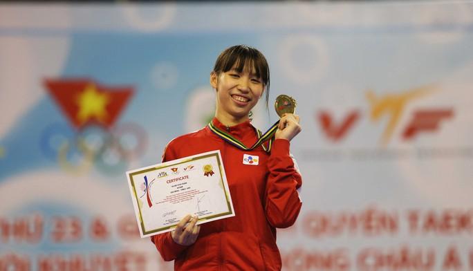 Thắng Thái Lan, Kim Tuyền giành HCV đối kháng châu Á cho taekwondo Việt Nam - Ảnh 3.