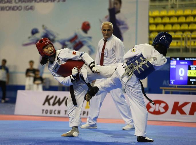 Thắng Thái Lan, Kim Tuyền giành HCV đối kháng châu Á cho taekwondo Việt Nam - Ảnh 1.