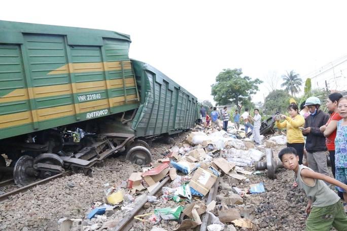 Đường sắt Bắc - Nam thông tuyến, không xảy ra hôi của sau tai nạn - Ảnh 3.