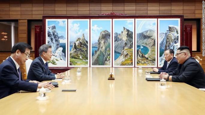 """Ông Trump: Kế hoạch thượng đỉnh Mỹ-Triều Tiên """"chưa thay đổi"""" - Ảnh 1."""