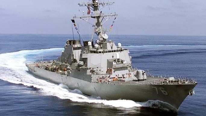 Mỹ điều chiến hạm đến gần Hoàng Sa thách thức Trung Quốc - Ảnh 1.