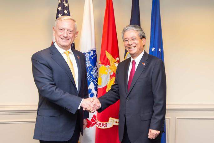 Lầu Năm Góc dùng tiêu binh đón tiếp Đại sứ Việt Nam - Ảnh 3.