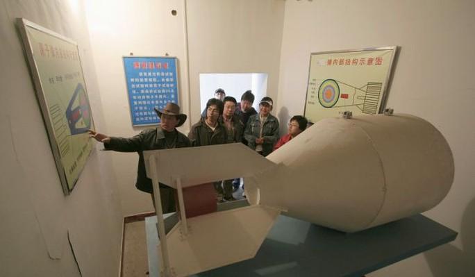 Trung Quốc chạy đua vũ khí hạt nhân - Ảnh 1.