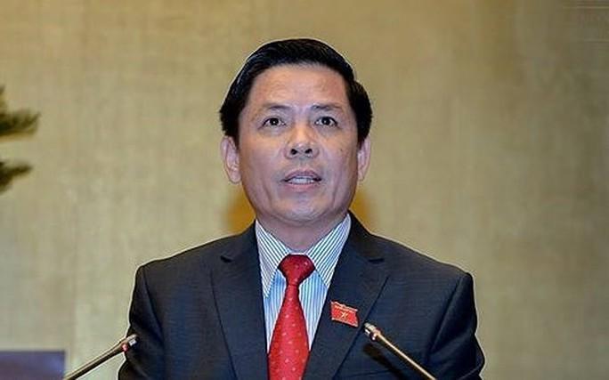 Bộ trưởng GTVT Nguyễn Văn Thể trả lời chất vấn về BOT - Ảnh 1.