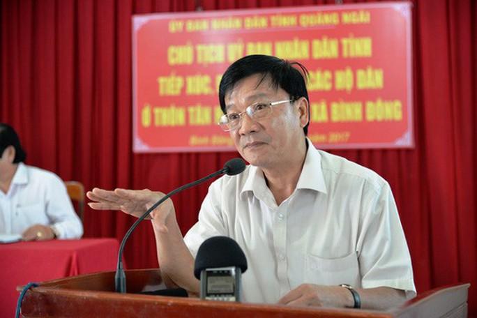 Chủ tịch tỉnh Quảng Ngãi bị kiện ra tòa 5 lần trong 1 tháng - Ảnh 1.