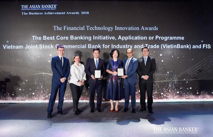 """VietinBank nhận """"cú đúp"""" giải thưởng uy tín từ The Asian Banker - Ảnh 1."""