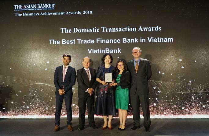 """VietinBank nhận """"cú đúp"""" giải thưởng uy tín từ The Asian Banker - Ảnh 2."""