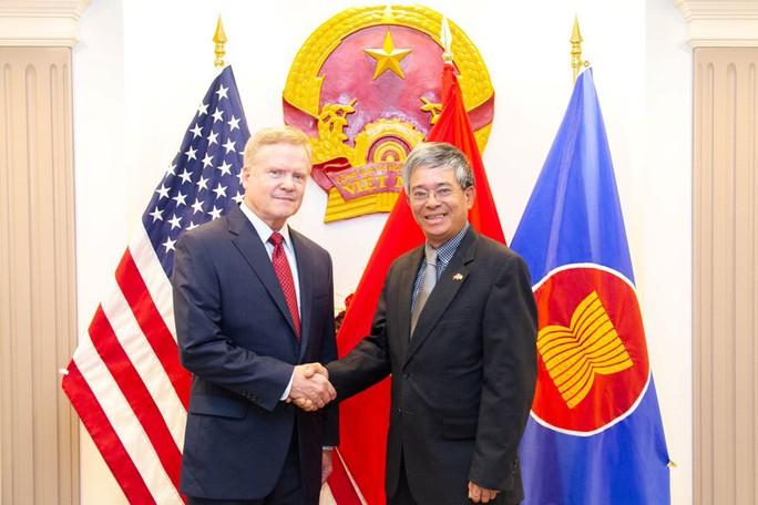 Lầu Năm Góc dùng tiêu binh đón tiếp Đại sứ Việt Nam - Ảnh 9.