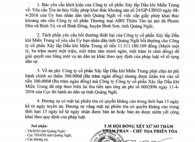 Người dân kiện Chủ tịch tỉnh Quảng Ngãi những gì? - Ảnh 2.