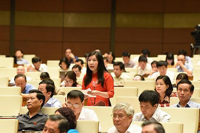 Tiếp thu ý kiến đại biểu, nhưng xin QH cho giữ nguyên như dự thảo - Ảnh 1.
