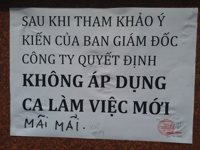 Gần 1.000 công nhân Công ty TNHH Nidec Sankyo Việt Nam ngừng việc - Ảnh 2.