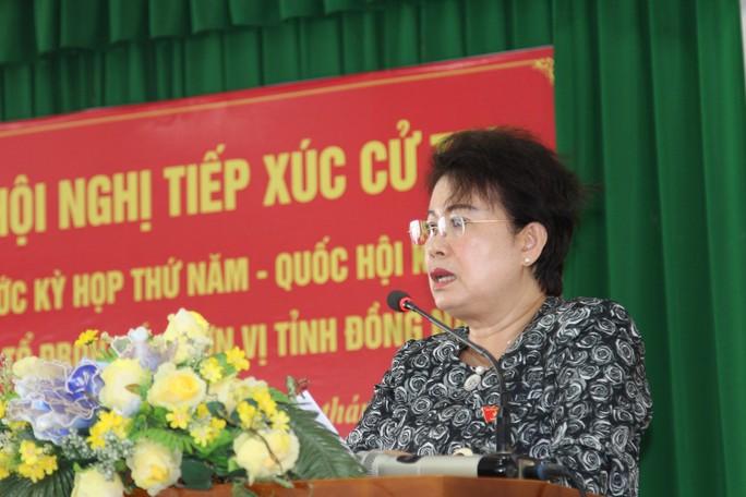 Bà Phan Thị Mỹ Thanh bị cử tri TP Biên Hòa truy vấn về tư cách ĐBQH - Ảnh 1.