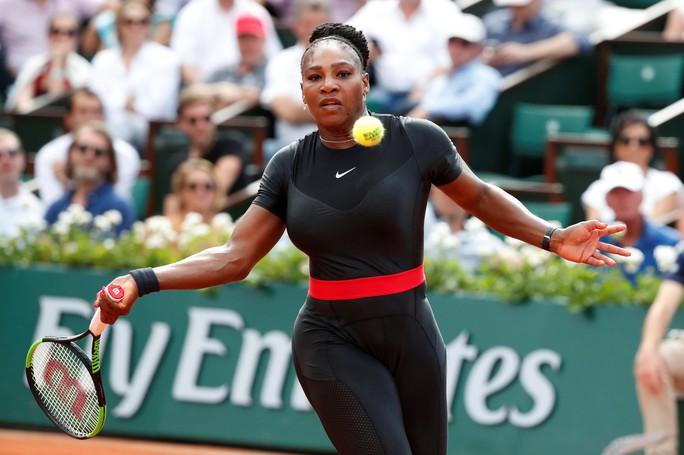 Clip Roland Garros 2018: Sharapova thắng nhọc, Serena hóa người mèo - Ảnh 9.