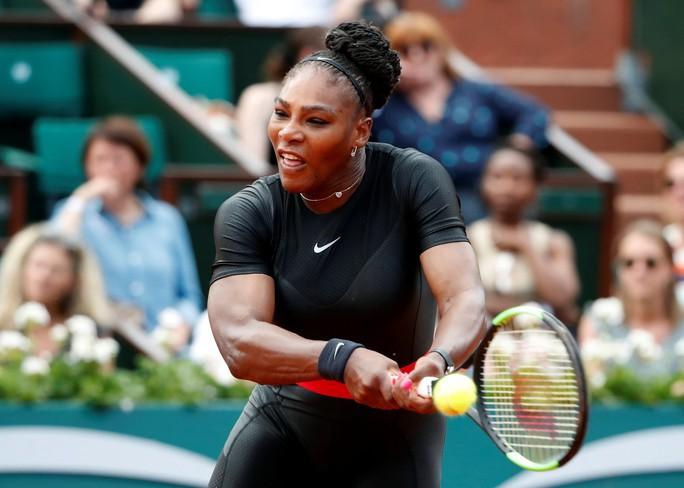 Clip Roland Garros 2018: Sharapova thắng nhọc, Serena hóa người mèo - Ảnh 8.