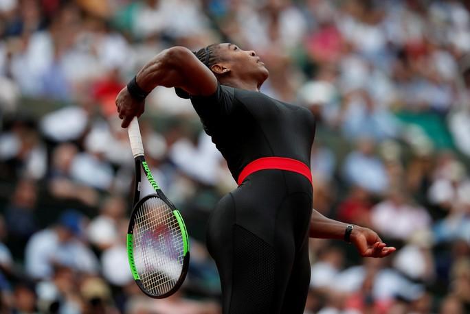 Clip Roland Garros 2018: Sharapova thắng nhọc, Serena hóa người mèo - Ảnh 6.