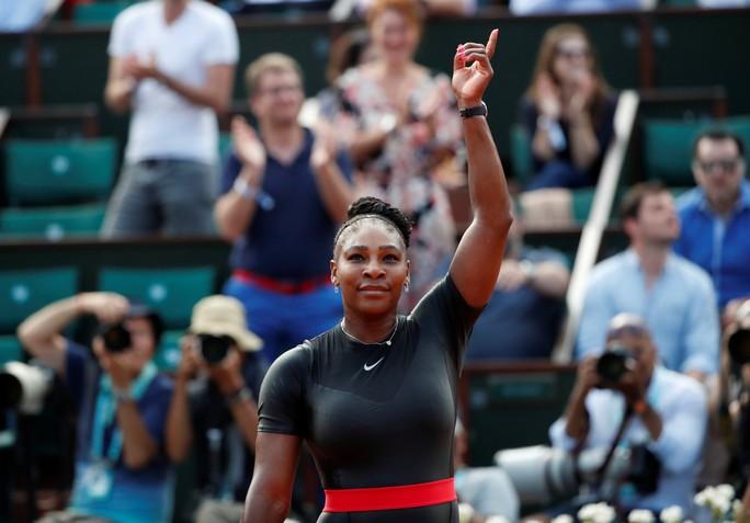 Clip Roland Garros 2018: Sharapova thắng nhọc, Serena hóa người mèo - Ảnh 10.
