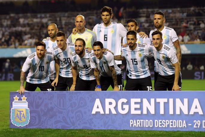 Giao hữu: Messi lập hat-trick, Argentina đè bẹp tí hon Haiti - Ảnh 8.