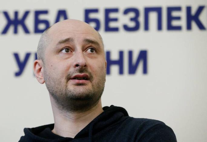 Dàn dựng cái chết của nhà báo Nga, Ukraine bị chỉ trích - Ảnh 2.