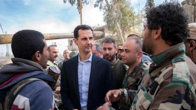 Tổng thống Assad: Mỹ phải rút khỏi Syria - Ảnh 1.