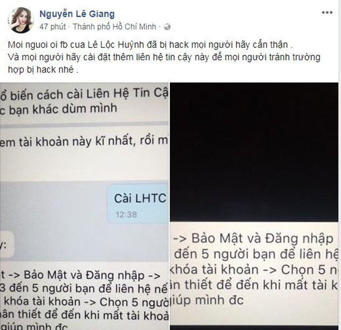 Sao Việt đồng loạt bị hacker cướp facebook, đòi tiền chuộc - Ảnh 6.