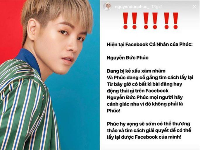 Sao Việt đồng loạt bị hacker cướp facebook, đòi tiền chuộc - Ảnh 1.