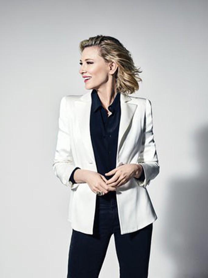 Cate Blanchett - Nữ chủ tịch giám khảo thứ 12 của LHP Cannes - Ảnh 1.