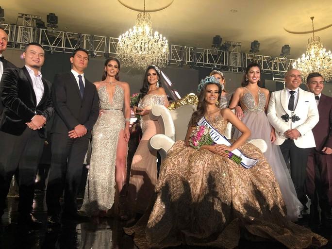Cận cảnh nhan sắc tân Hoa hậu Mexico - Ảnh 1.