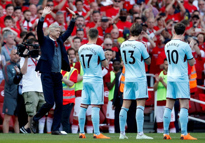 Tâm sự của A. Wenger ngày chia tay - Ảnh 1.