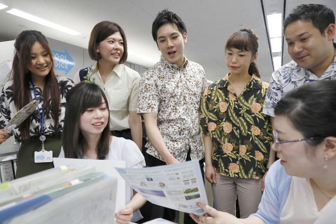 Nhật Bản: Cởi bớt... cho khỏe - Ảnh 1.