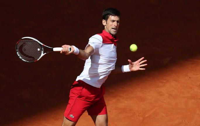 Djokovic lấy lại cảm hứng khi thắng Nishikori ở Madrid Open - Ảnh 4.