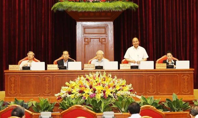 Thủ tướng điều hành phiên họp Hội nghị Trung ương về công tác cán bộ - Ảnh 1.