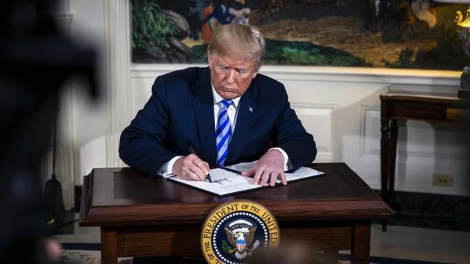 Điều gì bất ngờ nhất khi ông Trump rút Mỹ khỏi thỏa thuận hạt nhân Iran? - Ảnh 1.